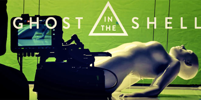Le film Ghost in the shell a utilisé l'impression 3D pour Scarlett Johansson