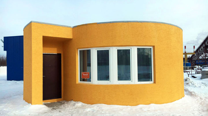 maison imprimante 3d