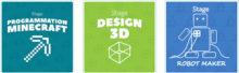 semaine stage 3D enfant Aix en Provence