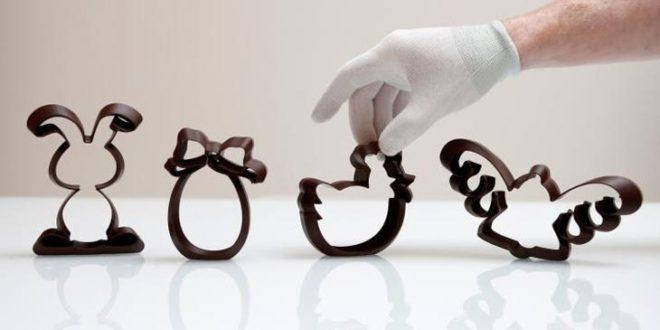 photo chocolat paques 3D
