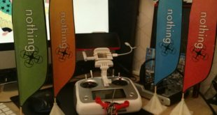 drapeaux pour drone imprimé en 3D
