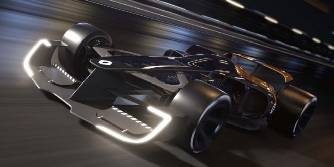 La Formule 1 du futur selon Renault