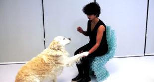 Chaise imprimée en 3D