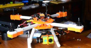 Caméra du drone imprimé en 3D
