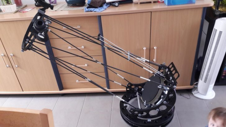telescope imprimé en 3D