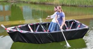 bateau canoe 3D TrussFab