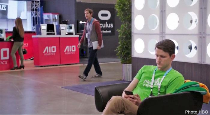 AIO Robotics et des imprimantes 3D dans la série Silicon Valley