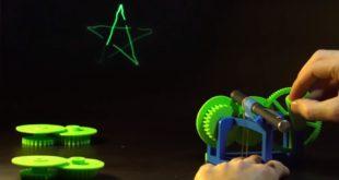 projecteur laser imprimé en 3D