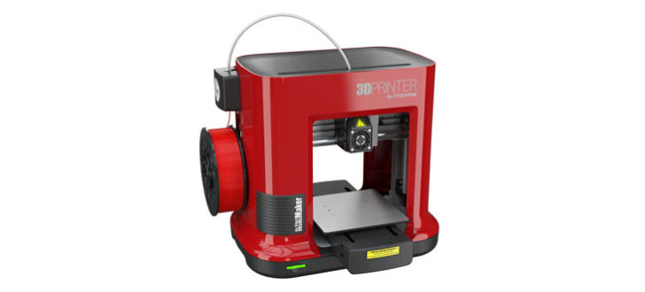 photo imprimante 3D XYZ printing da vinci mini rouge red