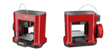 photo imprimante 3D XYZ printing da vinci mini rouge red