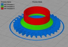 Prévisualisation process Simplify3D