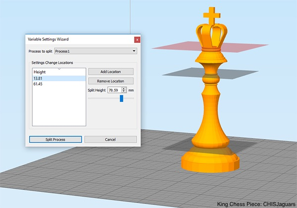 Variables Simplify3D