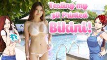 sexy bikini 3d printed