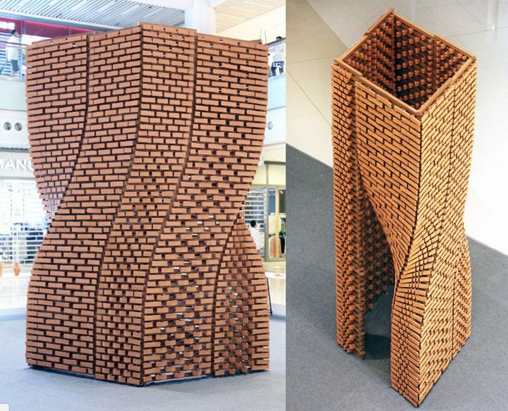 ceramique briques 3D