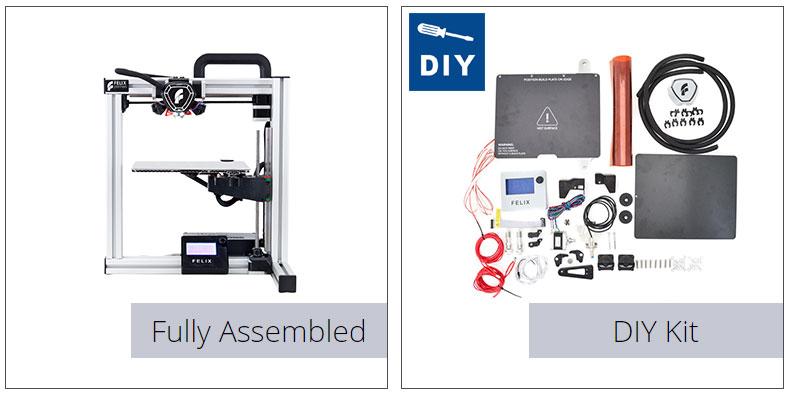 photo imprimante 3D Felix Tec4 kit