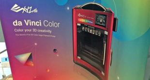 photo imprimante 3D XYZprinting da Vinci Color jet encre CMYK