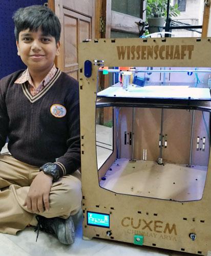 Cuxem imprimante 3D enfant Inde