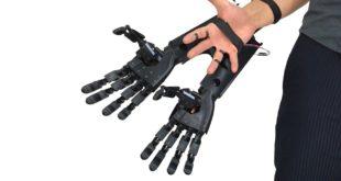 double main imprimée en 3D