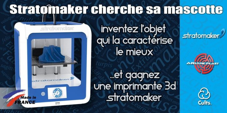 Concours Cults3d Stratomaker