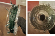 bobine filament PLA ABS guirlande Noel