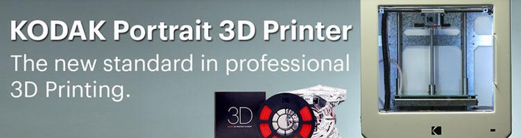 photo imprimante 3D Kodak Portrait
