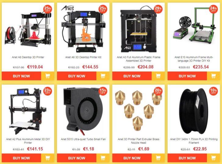 noel imprimante 3D anet