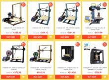 noel imprimante 3D creality