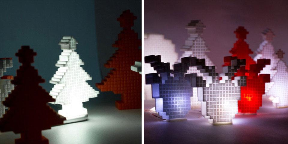 decoration de noel imprimée en 3D