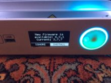Detection du firmware de l'ultimaker 3