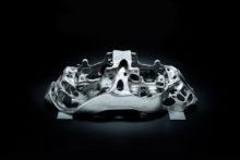 photo etrier frein Bugatti titane 3D