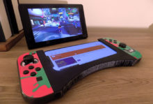 Nintendo Switch Joy Con smartphone 3D