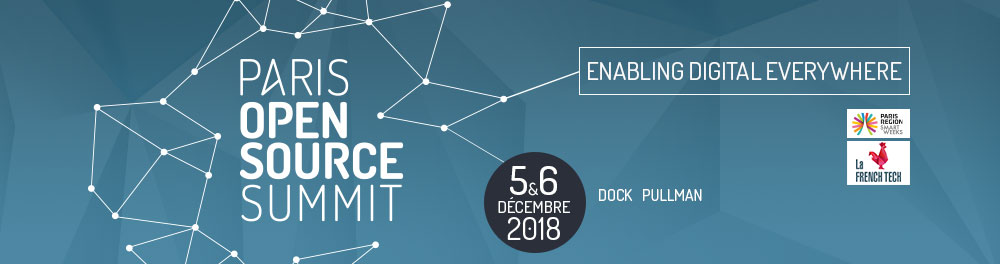 paris open source summit 2018 logo