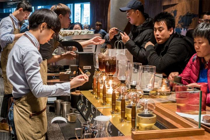 Starbucks Chine 3D