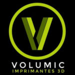 Volumic imprimante 3D logo