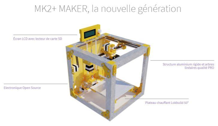SmartCub3D MK2+ Maker