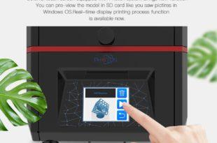 anycubic photon écran tactile couleurs autonome
