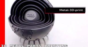 impression 3D metal audi