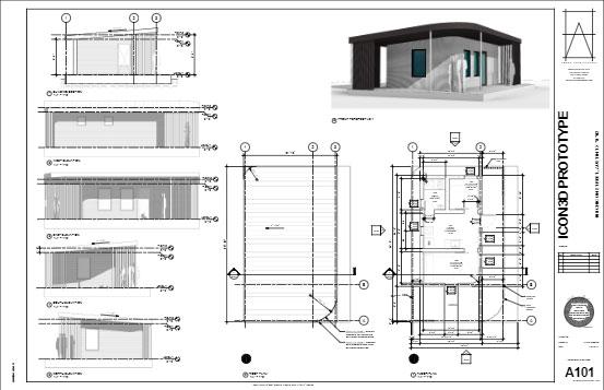 3DHome maison pas chère imprimée en 3D