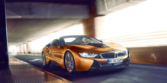 photo BMW i8 Roadster impression 3D
