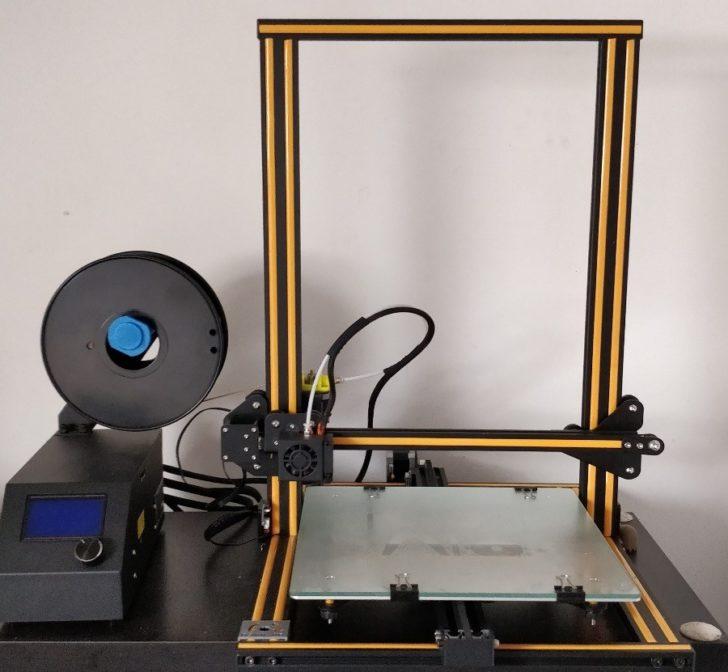 Imprimante 3D Creality CR-10 montée