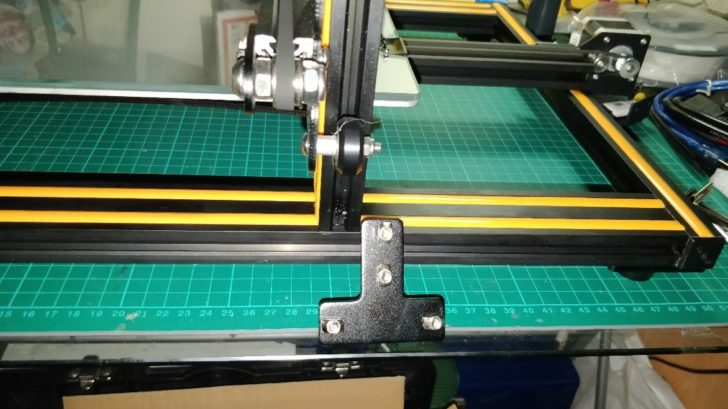 Montage cadres Creality CR-10