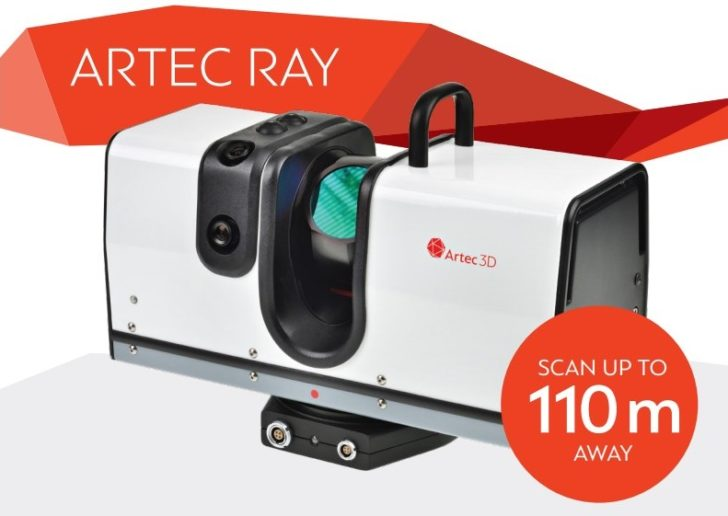 Scanner 3D Artec3D Ray