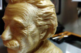 Test Creality CR-10 - Buste_Einstein
