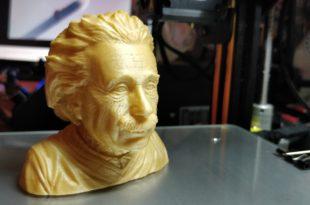 Test Creality CR-10 - Buste_Einstein1