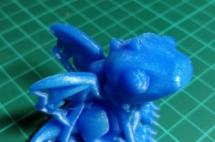 Test Creality CR-10 - Dragon