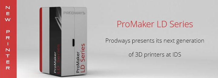 photo imprimante 3D Prodways ProMaker LD10 dentiste