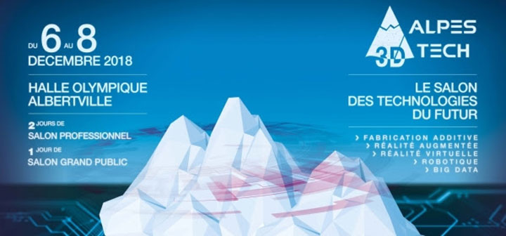 salon Alpes 3D Tech Albertville