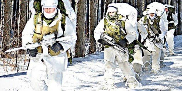 soldat neige