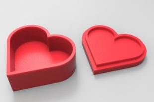 boite à bijoux coeur