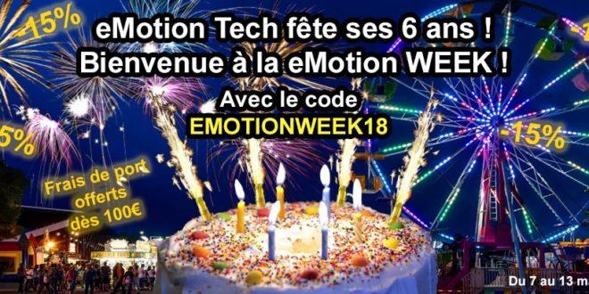anniversaire emotion tech 6 ans 2018